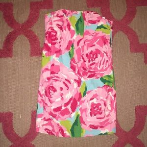 Lilly Pulitzer size 0 Hott pink first impressions